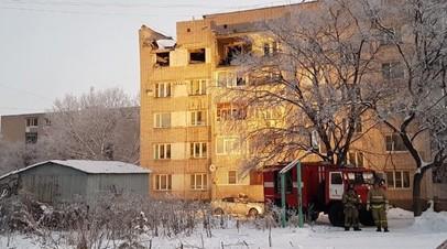 Угроза обрушения конструкций дома в Вологде после взрыва газа сохраняется