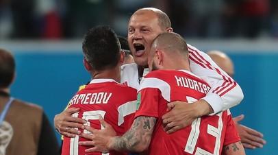 Сборная России по футболу поздравила Ромащенко с днём рождения