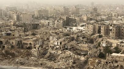 Де Мистура назвал сирийский конфликт одним из самых жестоких