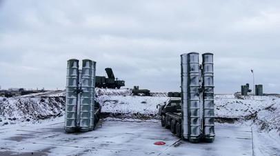 Расчёты С-400 провели учения по противовоздушной обороне в Крыму