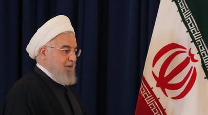 Рухани заявил о поддержке территориальной целостности Сирии
