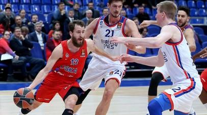 Родригес из ЦСКА стал пятым баскетболистом в истории, совершившим тысячу передач в Евролиге