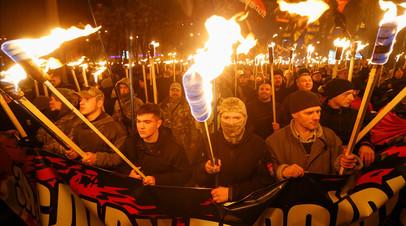 В Киеве планируют провести марш в честь дня рождения Бандеры 1 января