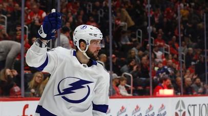 Кучеров признан первой звездой дня в НХЛ, Ковальчук — второй