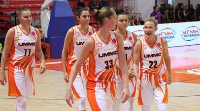 Баскетболистки УГМК в девятый раз выиграли Кубок России