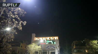 Сирийские ПВО отразили ракетные удары Израиля по окрестностям Дамаска
