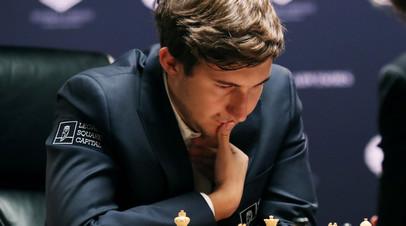 Карякин сыграл вничью с Инаркиевым во втором туре ЧМ по рапиду