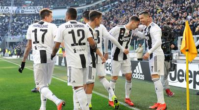 Дубль Роналду принёс «Ювентусу» победу над «Сампдорией» в Серии А