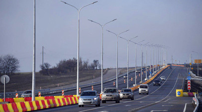 От Керчи до Симферополя: в Крыму открыли движение по первой очереди трассы «Таврида»