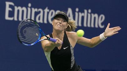 Шарапова назвала игру с Бачински на турнире WTA в Шэньчжэне хорошей тренировкой