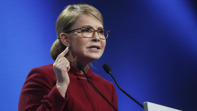 Тимошенко обвинила Порошенко в захвате медийного пространства