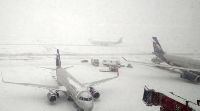 Более 30 рейсов задержано и отменено в московских аэропортах