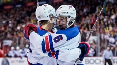 В четвёртый раз подряд: Россия проиграла США в полуфинале МЧМ-2019 по хоккею