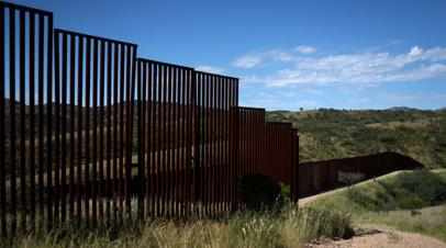 Трамп посетит границу с Мексикой