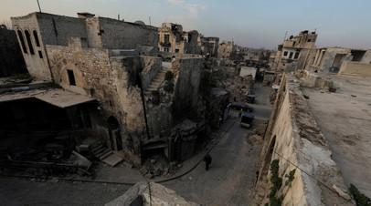 В ЦПВС сообщили об обстреле Алеппо со стороны боевиков
