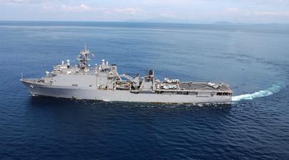 «Продолжим работать в Чёрном море»: в США объяснили манёвры USS Fort McHenry