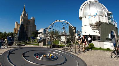 Для Московского планетария разработали мобильное приложение