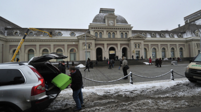 В Москве Павелецкий вокзал проверяют после анонимного звонка о минировании