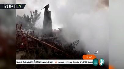Под Тегераном разбился грузовой самолёт