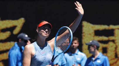 Шарапова заявила, что её до сих пор беспокоят боли в плече