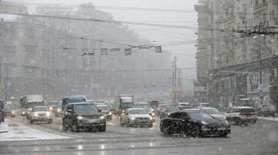 Жителей Москвы призвали пересесть на общественный транспорт из-за непогоды