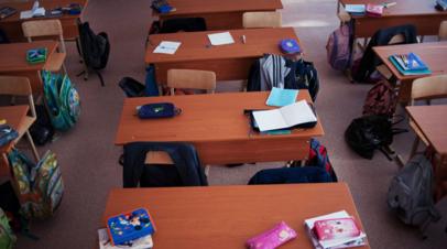 В Тюменской области проводят проверку по факту частичного обрушения штукатурки в школе