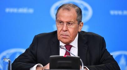Лавров прокомментировал планы США отправить корабли в Арктику