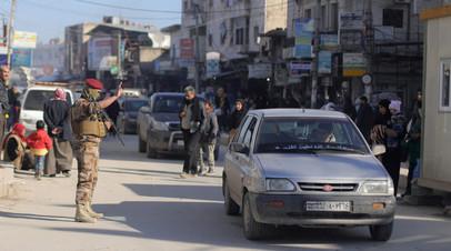 В сирийском Манбидже произошёл мощный взрыв