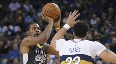 «Голден Стэйт» и «Нью-Орлеан» обновили рекорд НБА по числу реализованных трёхочковых бросков за матч
