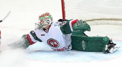 Зарипов прокомментировал игру молодого вратаря «Ак Барса» Подъяпольского
