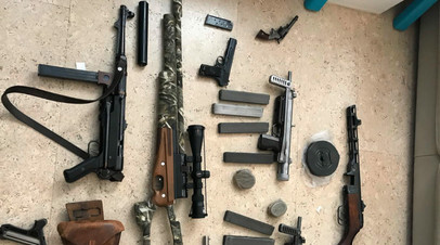 «Шмель», противотанковые гранатомёты и взрывчатка: ФСБ пресекла деятельность девяти подпольных оружейных мастерских