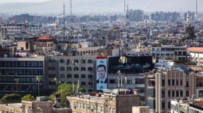 Взрыв в Дамаске не нарушил работу посольства России