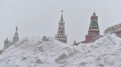 В Москве за неполные сутки выпала треть месячной нормы осадков