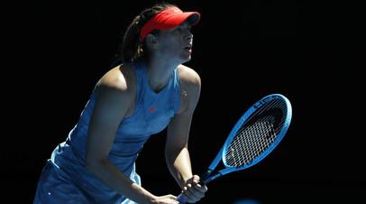 Букмекеры считают Шарапову фавориткой матча с Касаткиной на турнире WTA в Санкт-Петербурге