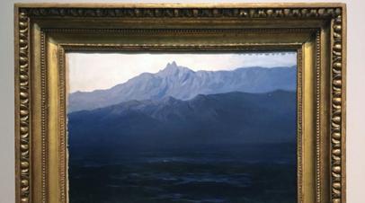 Картину Куинджи «Ай-Петри. Крым» передали Русскому музею