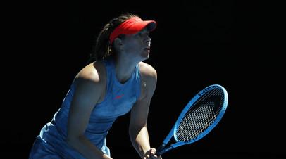 Шарапова снялась с турнира WTA в Санкт-Петербурге