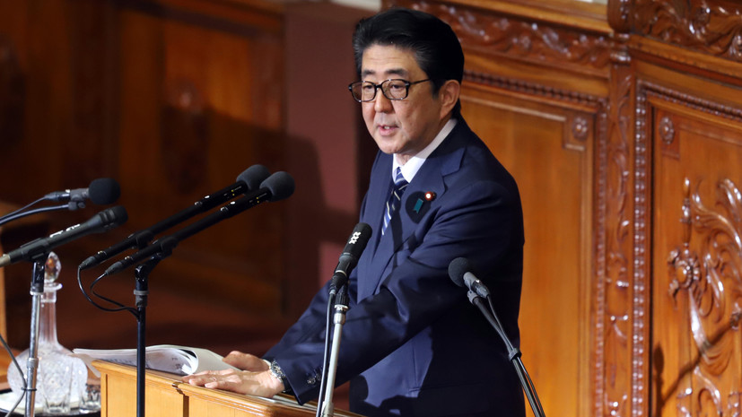 Абэ пообещал«поставить точку» в вопросе мирного договора с Россией