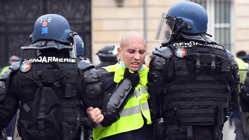 «Слишком много раненых»: с чем связан рост насилия при разгонах митингов «жёлтых жилетов»
