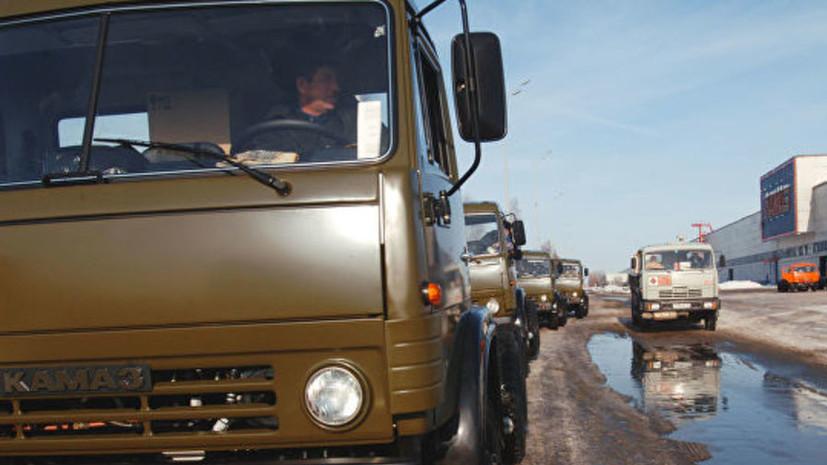 Рынок новых грузовых автомобилей в России вырос на 6,6% в январе