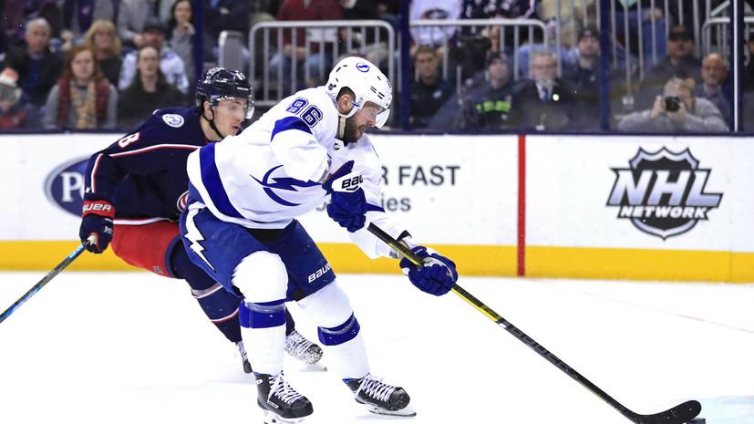 Кучеров установил рекорд «Тампы» по результативным передачам за сезон НХЛ