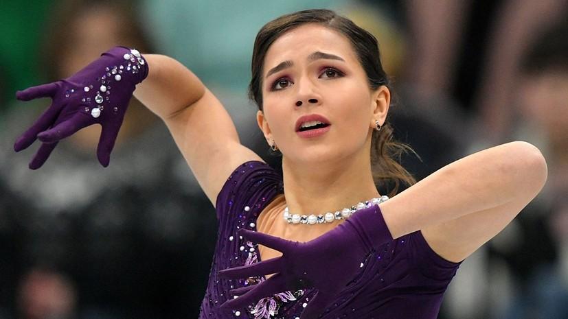 Константинова рассказала, что не планировала участвовать в финале Кубка России по фигурному катанию