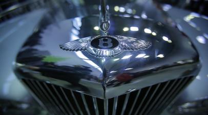 Продажи Bentley в России в 2018 году выросли на 27%