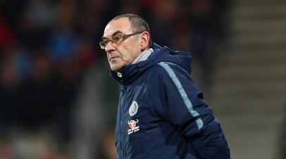СМИ: Главный тренер «Челси» Сарри может возглавить «Рому»
