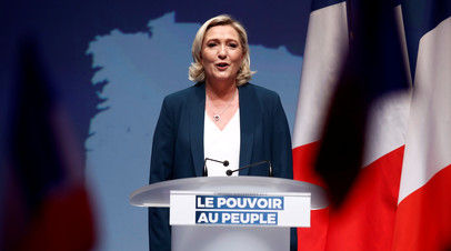 Марин Ле Пен: ЕС пытается возобновить конфликт в Ирландии
