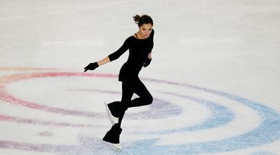 Медведева примет участие в финале Кубка России по фигурному катанию