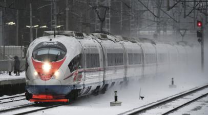 Более 400 тысяч человек перевезено поездами «Сапсан» в январе