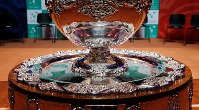 Сборная России по теннису попала в третью корзину жеребьёвки Кубка Дэвиса