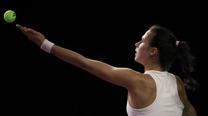 Вихлянцева вывела вперёд сборную России в матче Кубка Федерации по теннису с Польшей