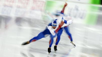 Мужская сборная России завоевала бронзу ЧМ по конькобежному спорту