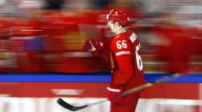 Сборная России по буллитам победила Финляндию в матче Шведских хоккейных игр